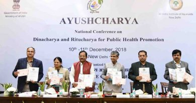 Two day Conference 'AYUSHCHARYA' Organised